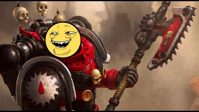 Когда чуток попутал Бугурт, Warhammer 40k, Баттхёрт, Космодесант, Primaris Space Marines, Юмор, Бог-Император