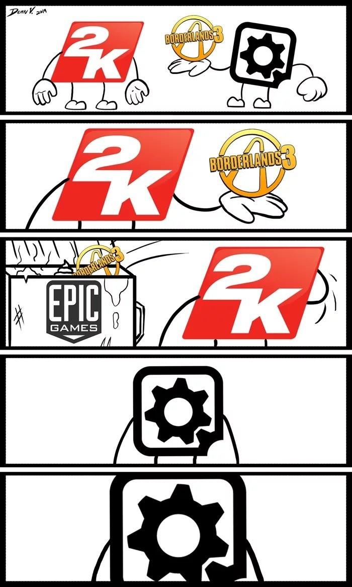 В свете последних событий... 2к, Epic Games, Borderlands 3, Эксклюзив, Pcgamer, Игры