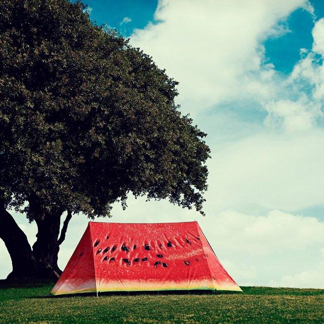 Палатки бывают разные