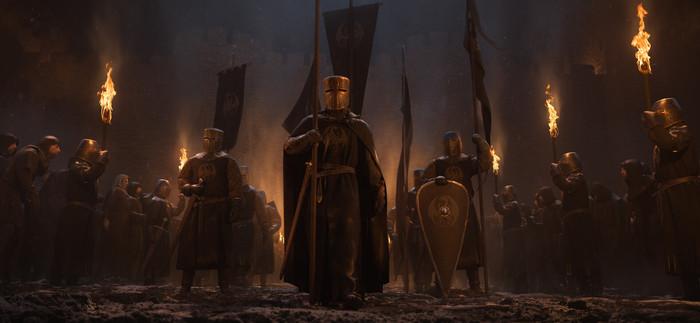 Драконоборцы Арт, Рендер, Рыцарь