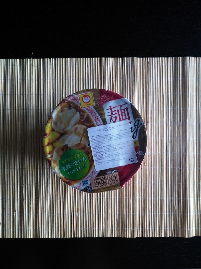 Лапша с пельменями. Бриллиант или извращение? Обзор на еду, Лапша, Азия, Пельмени, Владивосток, Япония, Еда, Длиннопост