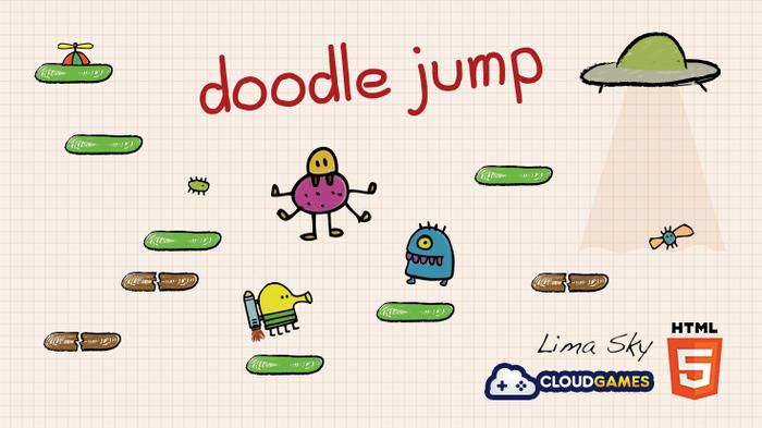 Ровно 10 лет назад вышла игра Doodle Jump Игры, Юбилей, Doodle Jump