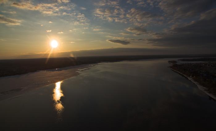 Волга Квадрокоптер, Волга, Фотография, Длиннопост, Дрон
