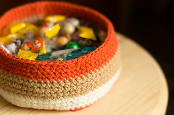 Корзинка для мелочей. Вязание, Вязание крючком, Рукоделие, Своими руками, Ручная работа, Хобби