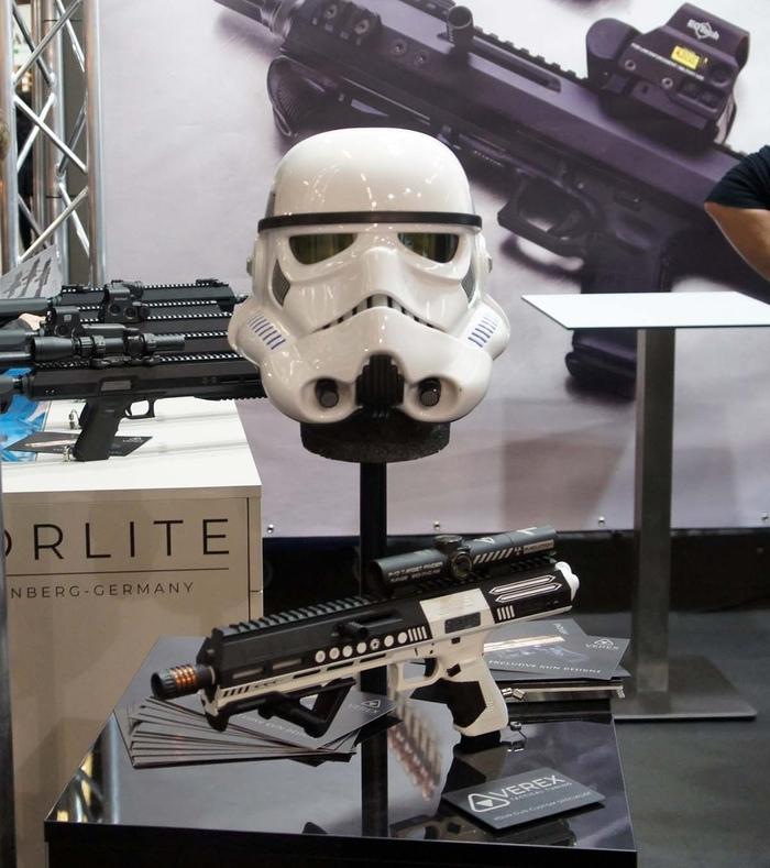 """""""F-17 Blaster"""" от компании Norlite. Оружие, Выставка, Star Wars, Редкое и необычное оружие, Длиннопост"""