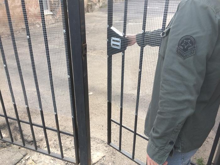 Надежная защита Замок, Ворота, Защита, Длиннопост