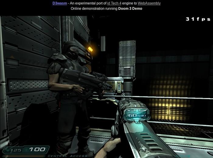 Doom 3 в браузере Doom, Браузерные игры, Онлайн-Игры, Длиннопост