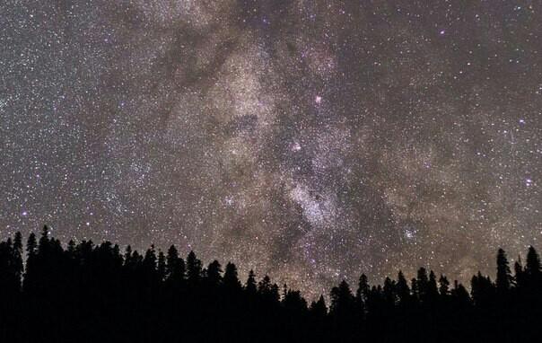 Просто млечный путь Планеты и звезды, Ночь, Млечный путь, Архыз, Длиннопост