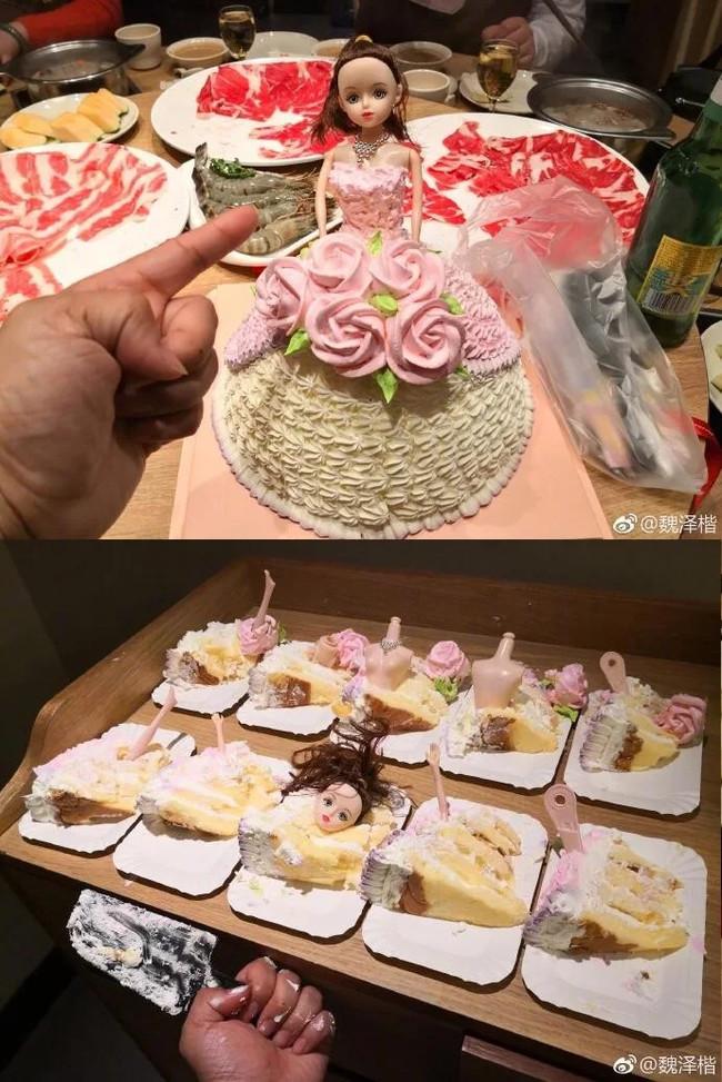 Как правильно нарезать торт