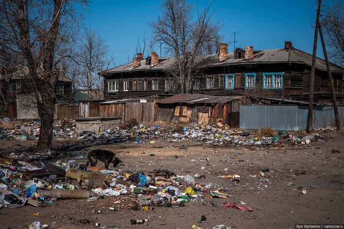 Чита: мусорное Средневековье... Забайкалье, Мусор, Чита, Варламов, Видео, Длиннопост