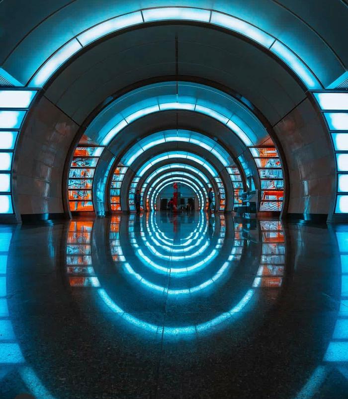 Станция метро Фонвизинская. Москва
