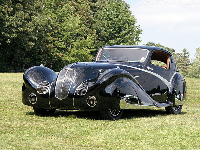 Delahaye 135 Competition Court Figoni&Falaschi Coupe (1936 год) Автоистория, Delahaye, 1936, Длиннопост