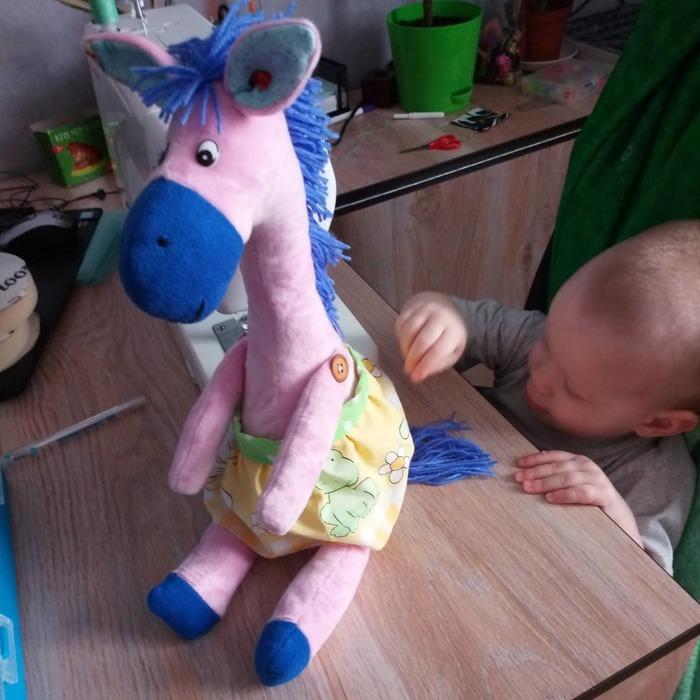 Сшила лошадку Рукоделие без процесса, Шитье, Мягкая игрушка, Лошади