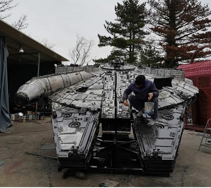 Starwars home Star Wars, Дом, Длиннопост, Тысячелетний сокол