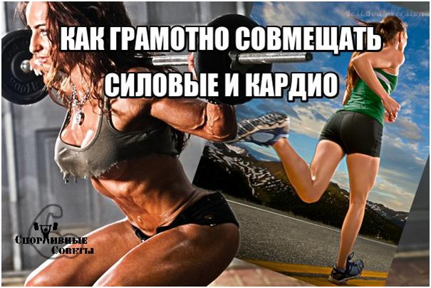 Как грамотно совмещать силовые и кардио Спорт, Тренер, Спортивные советы, Тренировка, Исследование, Кардио, Силовая, Качалка, Длиннопост
