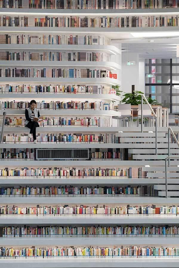 Любите ли вы библиотеки так, как люблю их я? Библиотека, Китай, Длиннопост