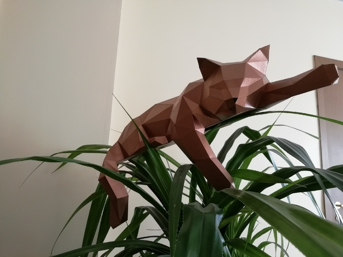 Мои красавцы - коты от Methakura Papercraft, Methakura, Low poly, Кот, Длиннопост