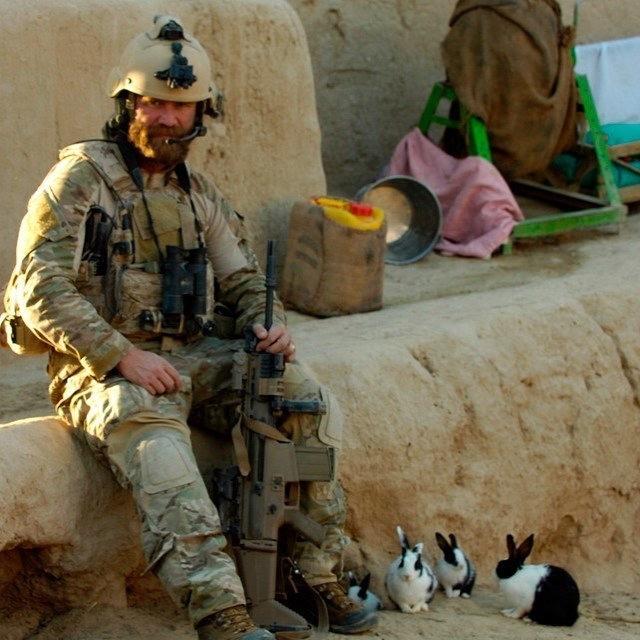 Боец Navy SEAL Армия, США, Милитари, Морской котик, Us Navy SEALs, Милота