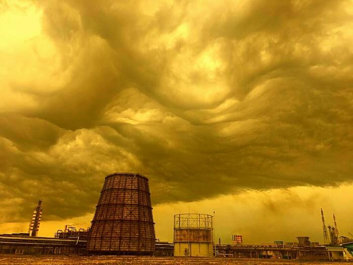 Вот такое небо. Как в S.T.A.L.K.E.R Небо, Весна, Фотошоп мастер