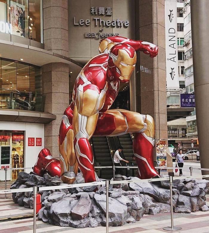 Тем временем в Гонконге Гонконг, Hot toys, Железный человек, Мстители, Длиннопост