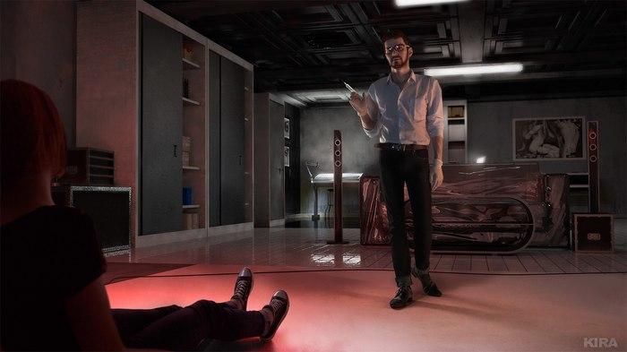 Life Is Strange - Dark Room - Max Caulfield - Mark Jefferson Life is Strange, Косплей, Компьютерные игры, Фотография, Max Caulfield, Длиннопост