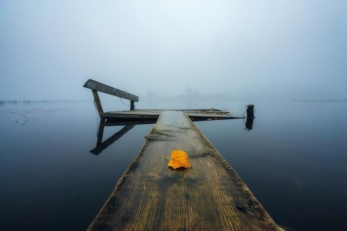 Одиночество и умиротворение...