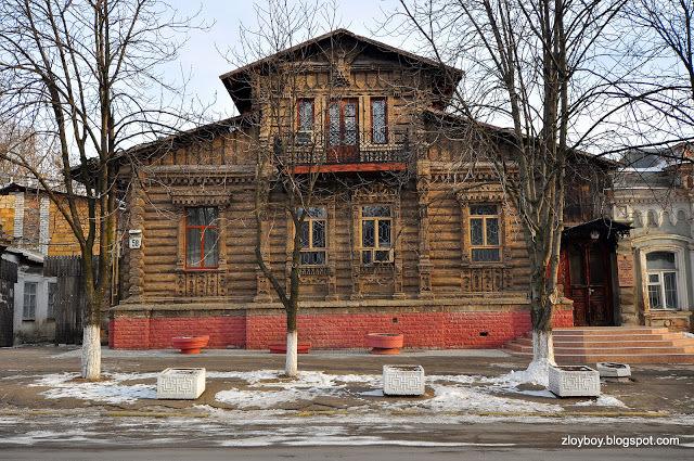 Каменный сруб Новороссия, Архитектура, История, Длиннопост