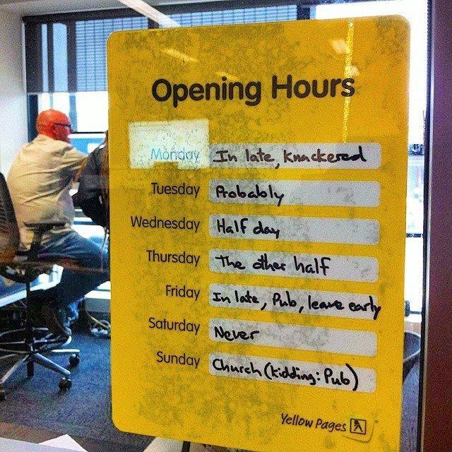 Как к вам устроиться на работу? Режим работы, Заведение, Работа, График, Дни недели, Картинка с текстом, Бар