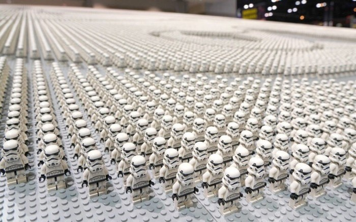Шлем штурмовика из 36 440 фигурок Lego. Подсчитаем! LEGO, Книга рекордов Гиннесса, Лего звездные войны, Длиннопост