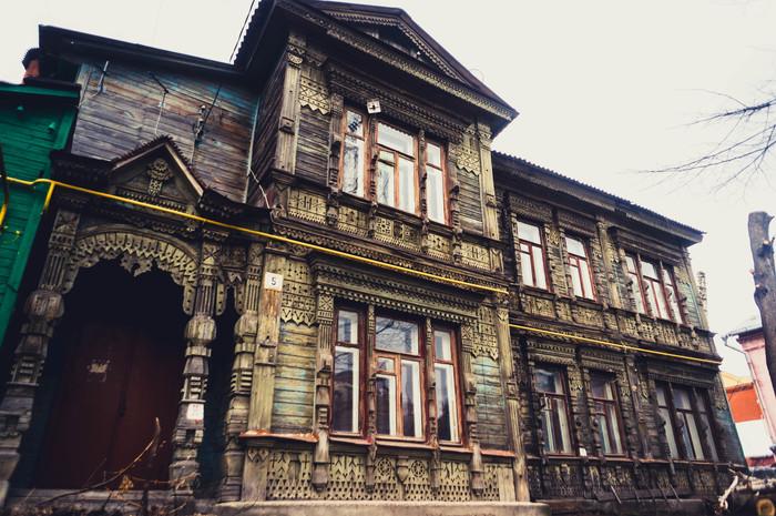 В самом центре города Рязань, Фотография, Старый дом, Зодчество, Центр города, Sony