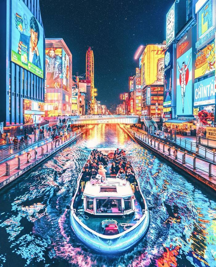 Мечта Анимуфага Токио Ночью Япония, Токио, Ночь, Длиннопост