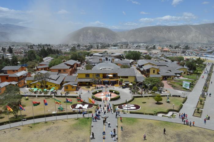 Еще немного Эквадора Экватор, Официальный экватор, Длиннопост