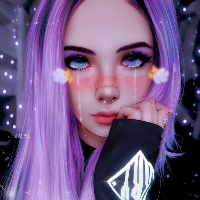 Виолетта Anime Art, Девушки