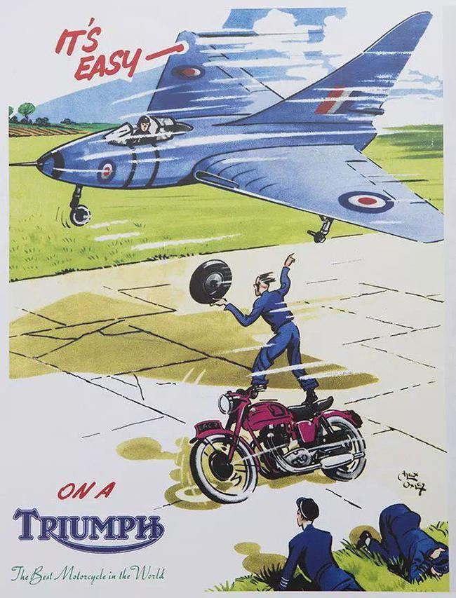 Это легко на Triumph. Лучший мотоцикл в мире