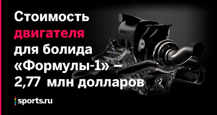 Сколько стоит машина «Формулы-1» Формула 1, Болид, Машина, Сколько стоит, Спорт, Автоспорт, Бюджет, Длиннопост