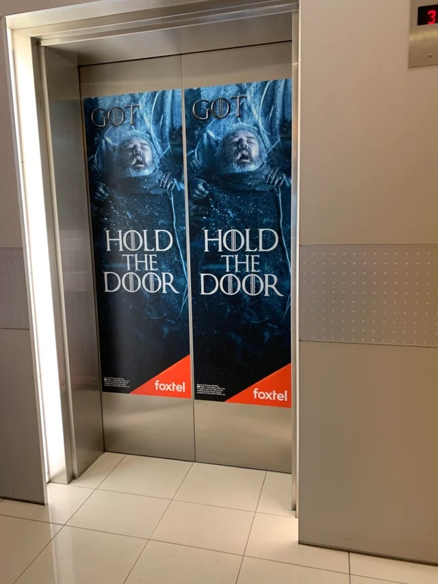 Hold The Door. Игра престолов, Ходор, Hold the Door, Реклама
