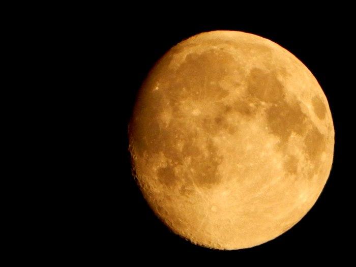 Атмосферная луна :) Луна, На ночь, Начинающий фотограф