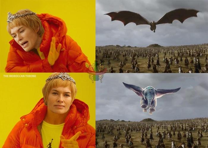 Dragons<Elephants