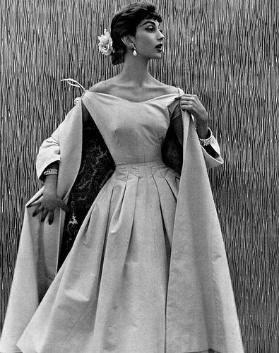 Мода 1950 Мода, Красивые платья, Винтаж, 50-е, Длиннопост