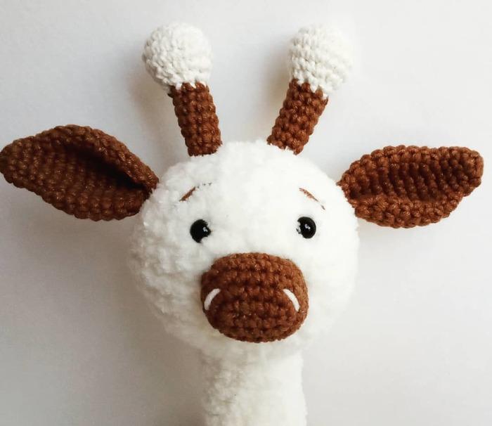 Вязаный жираф Вязаные игрушки, Жираф, Вязание крючком, Вязание игрушек, Рукоделие без процесса, Длиннопост
