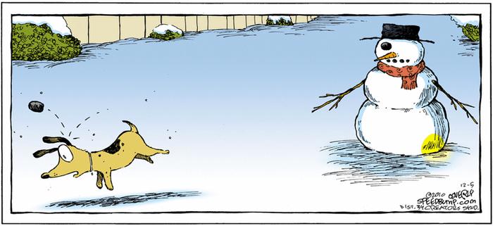 Месть снеговика