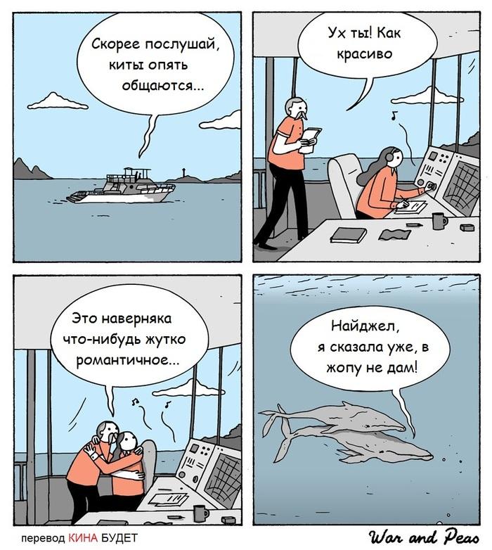 Романтичные киты...