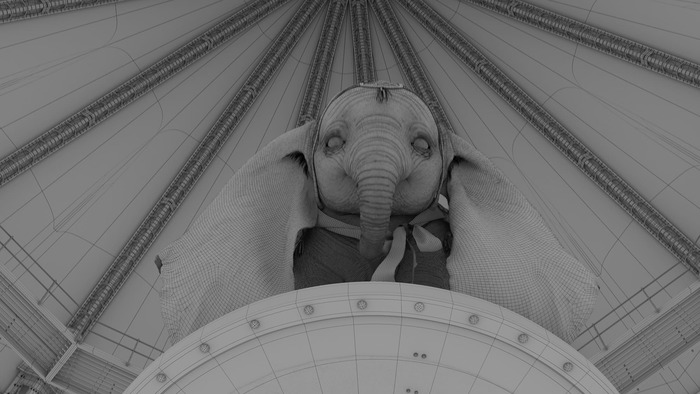Полет Ушастого Дамбо Дамбо, Walt Disney Company, Тим Бертон, Видео, Длиннопост