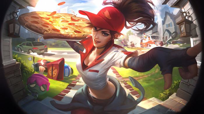 Доставщица пиццы Сивир, чемпион + образ, бесплатно, самому быстрому и удачливому! (НЕ АКТУАЛЬНО!!) Сивир, Раздача, Образ