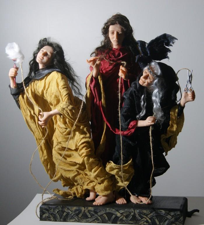 Интерьерные куклы ручной работы. Мифы древней Греции. Часть 2. Древнегреческие мифы, Своими руками, Интерьерная кукла, Длиннопост