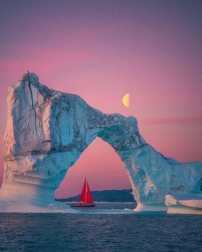 Алые паруса по Гренландски