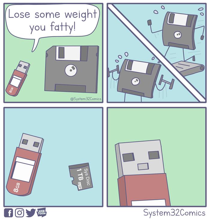 Сбрось вес, жирдяй!