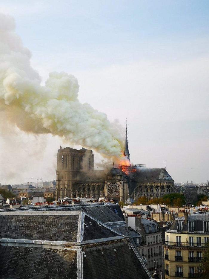 Частичка Пермского края сгорела в Париже Пермь, Париж, Собор, Пожар, Notre Dame De Paris