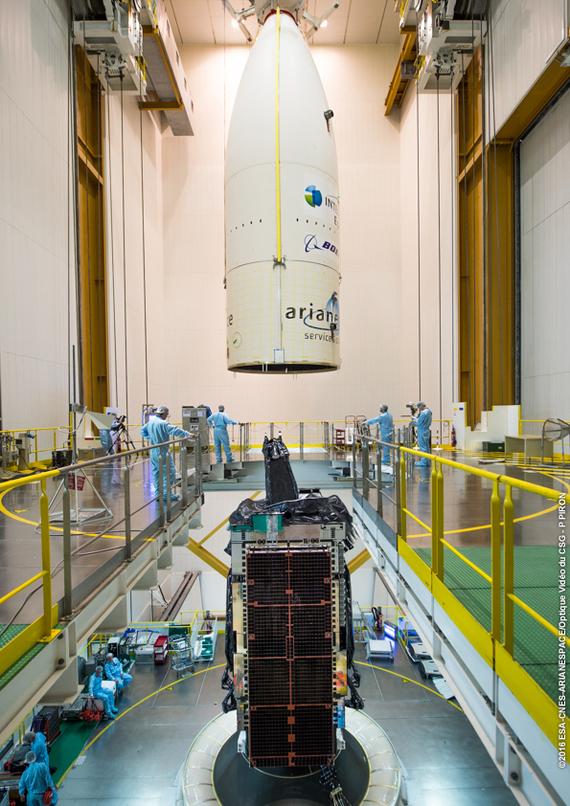 Возникли неполадки со спутником Intelsat 29e Космос, Intelsat 29e, Боинг, Спутник, Неполадки, Техника, Видео, Длиннопост