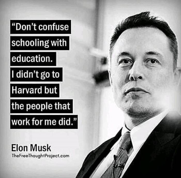 Не дурите голову школоте Илон Маск, Образование, Школа, Школота, Учеба, Обучение